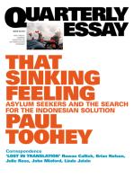 Quarterly Essay 53 That Sinking Feeling