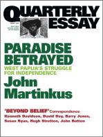 Quarterly Essay 7 Paradise Betrayed