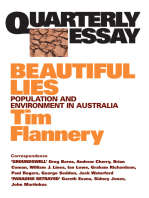 Quarterly Essay 9 Beautiful Lies