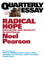 Quarterly Essay 35 Radical Hope