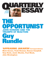 Quarterly Essay 3 The Opportunist