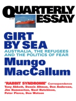 Quarterly Essay 5 Girt By Sea