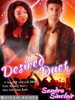 Desired Duet - A Sexy BBW Interracial BWWM Erotic Romance Short Story from Steam Books