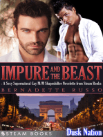 Impure and the Beast - A Sexy Supernatural Gay M/M Shapeshifter Novelette from Steam Books