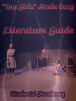"""Top Girls"" Made Easy: Literature Guide"