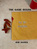 The Game Begins (A Lt. Barton Detective Novel)