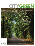 Green Spaces for Sustainable Cities, Citygreen Issue 6