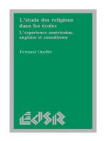 L'étude des religions dans les écoles