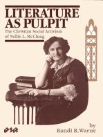 Literature as Pulpit
