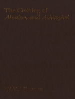The Crafting of Absalom and Achitophel