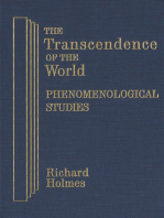 The Transcendence of the World