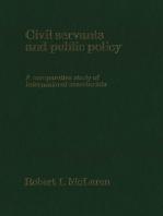 Civil Servants and Public Policy: A Comparative Study of International Secretariats