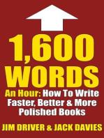 1600 Words An Hour