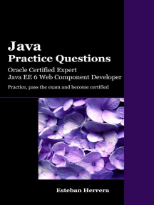 Java Practice Questions: Oracle Certified Expert, Java EE 6 Web Component Developer (OCEJWCD)