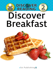 Discover Breakfast: Level 2 Reader
