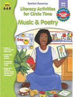 Music & Poetry Literacy Activities for Circle Time, Ages 3 - 6