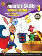 Math & Reading Workbook, Grade 3