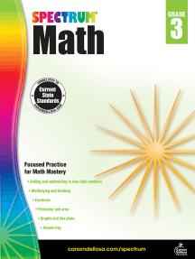 Spectrum Math Workbook, Grade 3