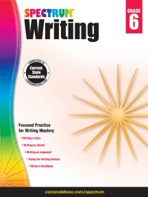Spectrum Writing, Grade 6