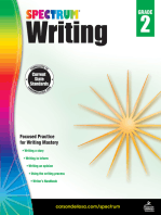 Spectrum Writing, Grade 2