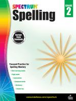 Spectrum Spelling, Grade 2