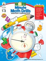 More Minute Math Drills, Grades 1 - 3