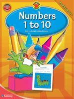 Numbers 1-10, Grade Preschool