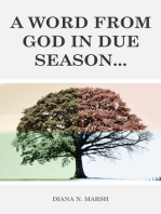 A Word from God in Due Season
