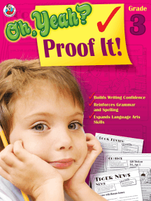 Oh Yeah? Proof It!, Grade 3