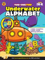 Underwater Alphabet & Sea Shapes, Grades PK - K