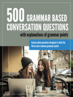 500 Grammar Based Conversation Questions