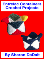 Entrelac Containers Crochet Projects
