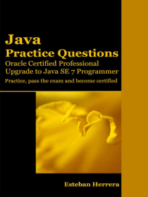 Java Practice Questions: Upgrade to Java SE 7 Programmer