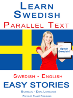 Learn Swedish - Parallel Text - Easy Stories (Swedish - English) Bilingual - Dual Language