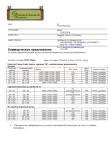 Спецификация на закупаемый пиломатериал