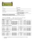 Коммерческое предложение на закупку пиломатериала обрезного бер