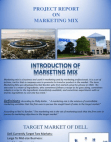 Project Report on Marketing Mix of DELL and APPLE