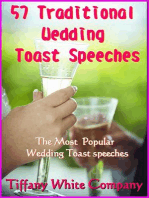 57 Traditional Wedding Toast Speeches - The most popular Wedding Toast Speeches