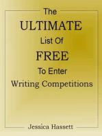 The Ultimate List Of Free To Enter Writing Competitions