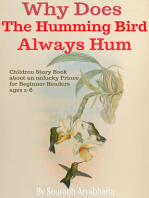 Why Does The Humming Bird Always Hum