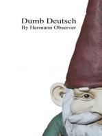 Dumb Deutsch