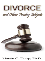 Divorce and Other Touchy Subjects