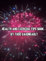 Health and Exercise Tips Book