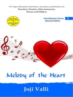 Melody of the Heart - HeartSpeaks Series - 3 (101 topics illustrated with stories, anecdotes, and incidents for preachers, teachers, value instructors, parents and children) by Joji Valli