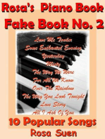 Rosa's Piano Book - Fake Book No. 2 - 10 Popular Songs