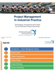 Project Management in Industrial Practice