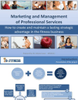Marketing and Management of Professional Services