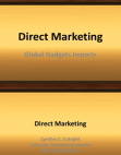 Direct Marketing on Global Gadgets Imports
