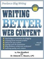 Freelance Blog Writing