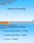 PPT on Financial Accounting